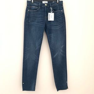 Frame Denim NWT Le Boy Straight Leg Jeans